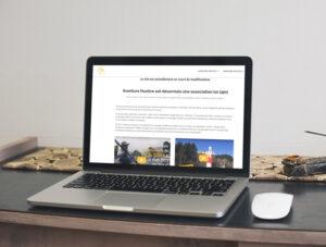 création site web Aventure Hustive